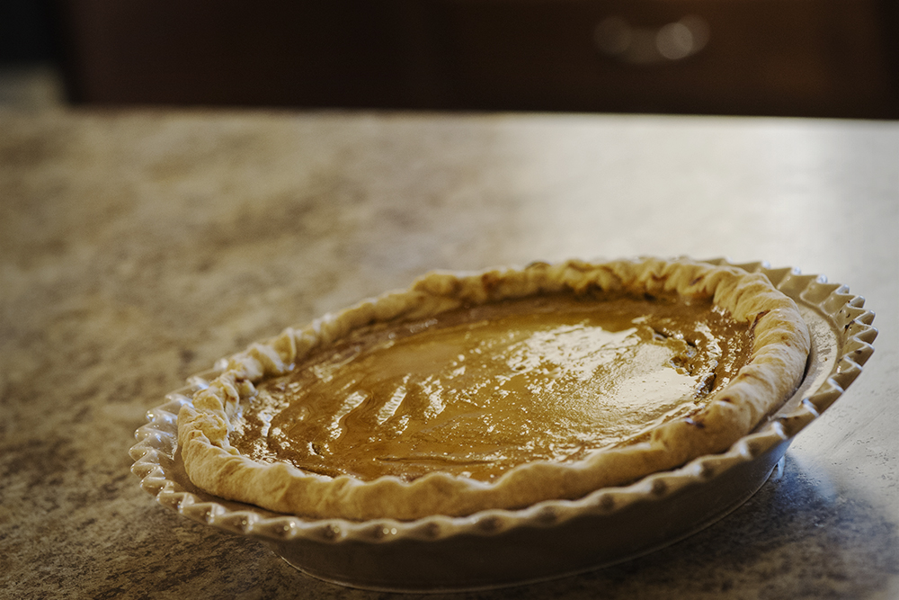 Maple Vanilla Pumpkin Pie