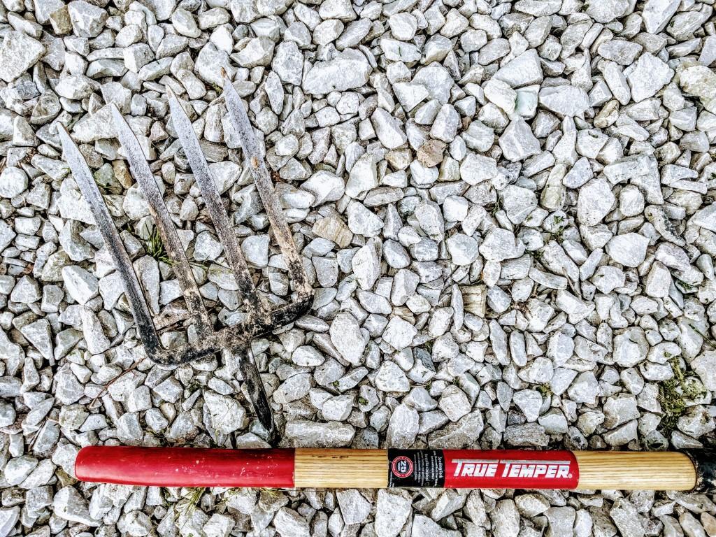 Broken Spading Fork