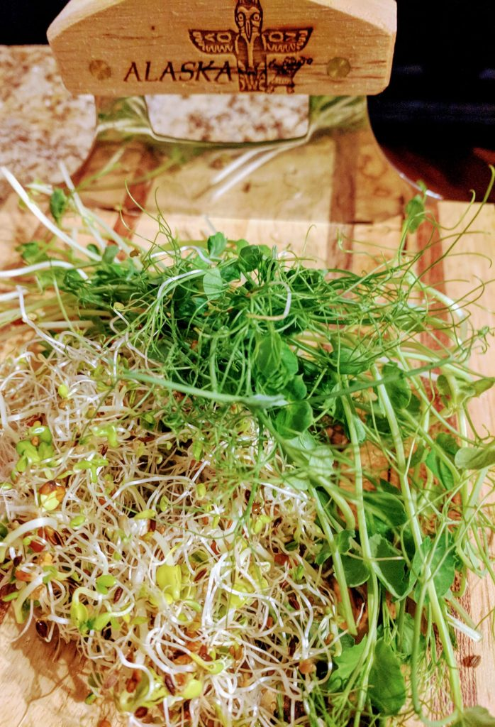 Pea Tendrils and Sprouts